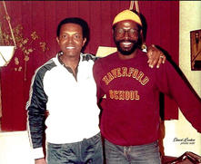 Teddy Pendergrass and Jerry Cummings