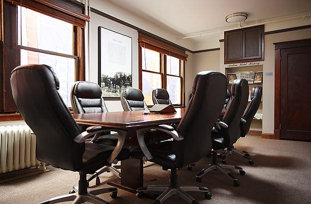The Andrus Hotel Executive Boardroom