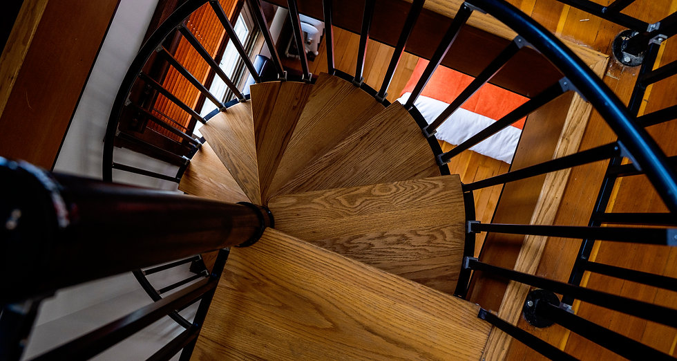 The Andrus Hotel - Spiral Staircase Suite