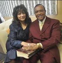 Jerry Cummings and wife, Dr. Gloria Cummings