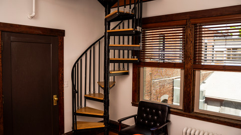 Spiral Staircase Suite