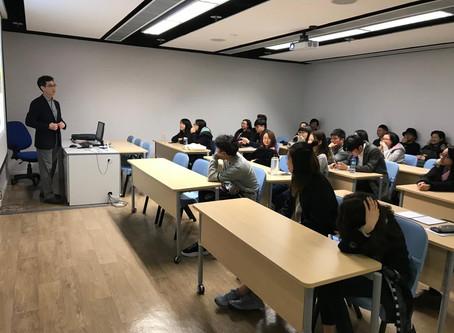 Career Talk for Caritas students 2019