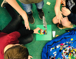 Lego Teamwork in Schools