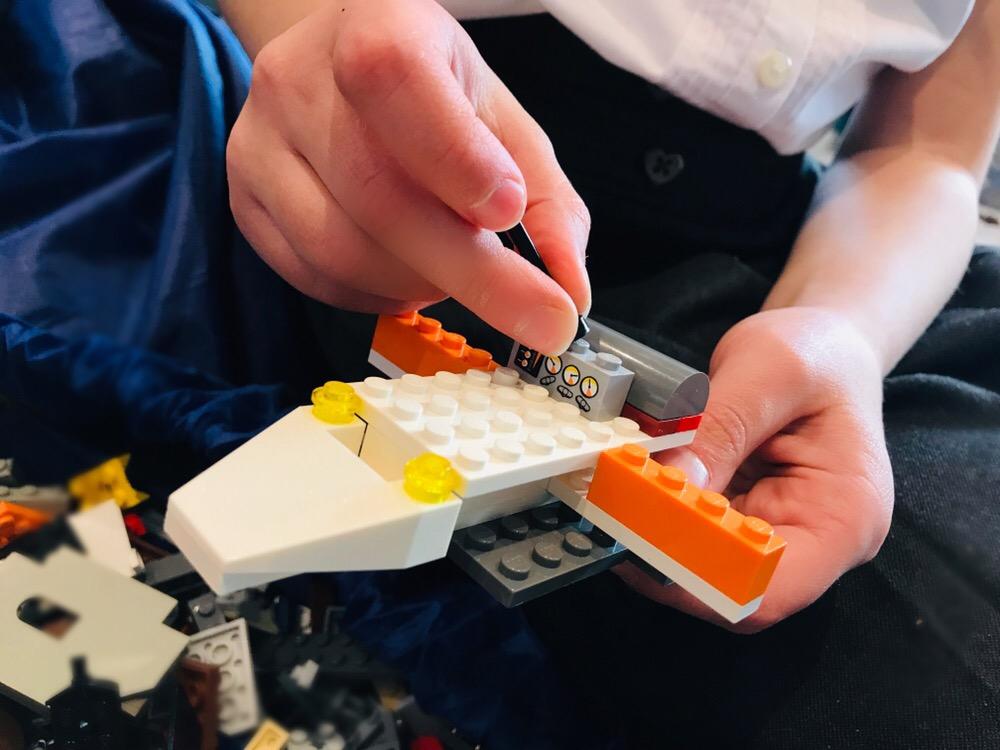 Lego mentoring