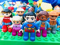 Lego Duplo figures