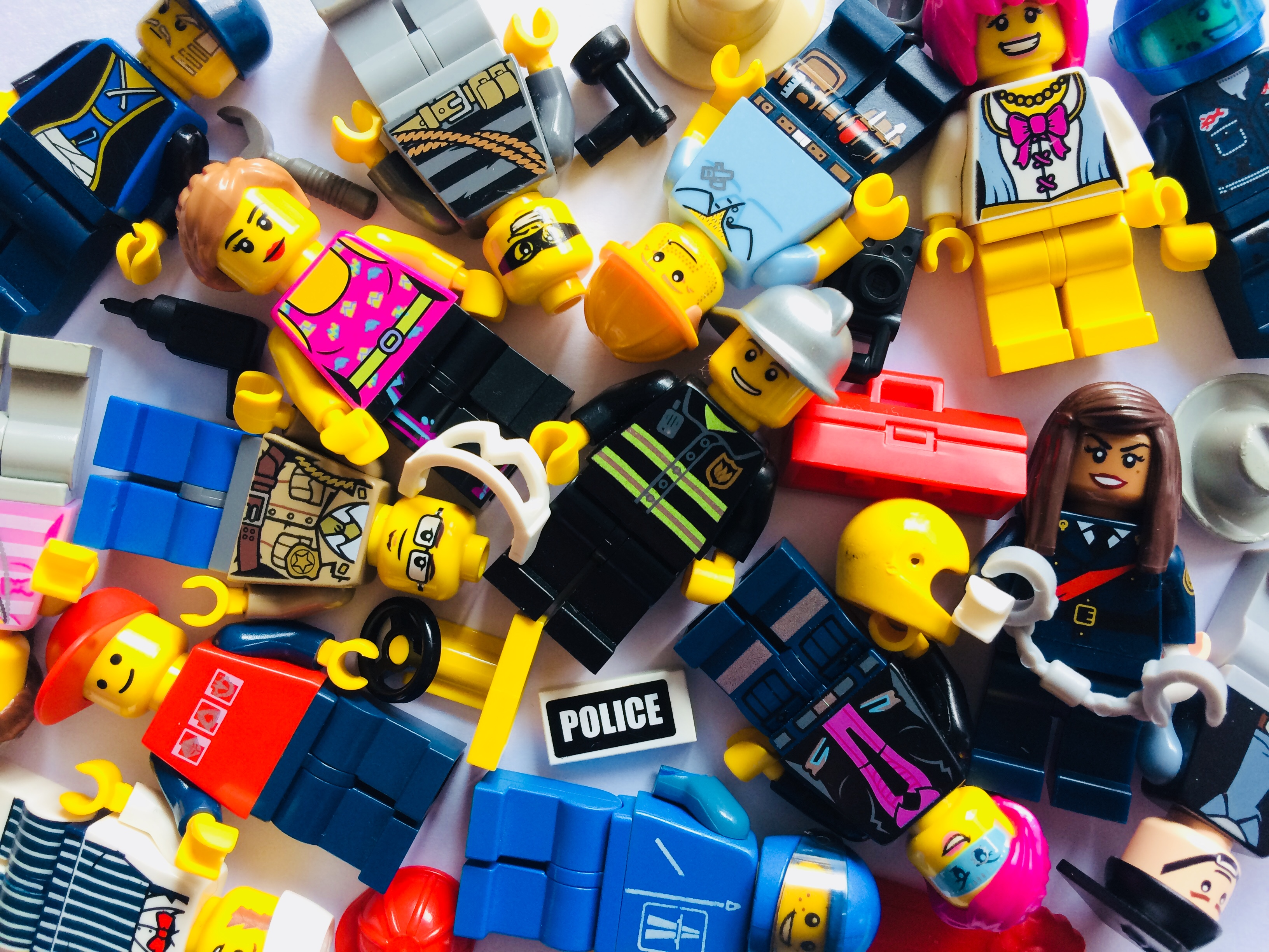 City minifigures