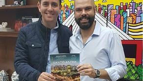 Prefeito de São Paulo, Bruno Covas, recebe edição City's Book