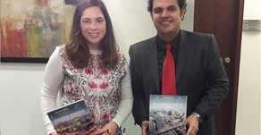 City's Book meets with Brazil-Canada Chamber of Commerce
