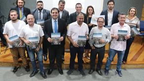 Nova Odessa SP receives the City's Book project - 2018