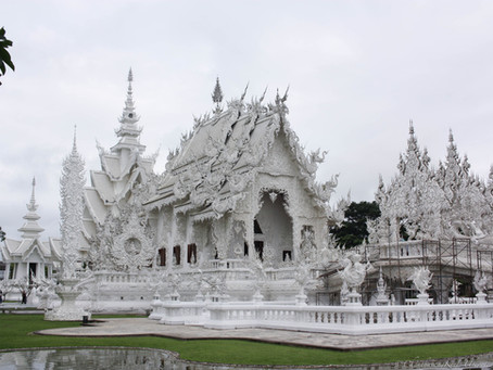 The White Temple and The Blue Temple - Chiang Rai