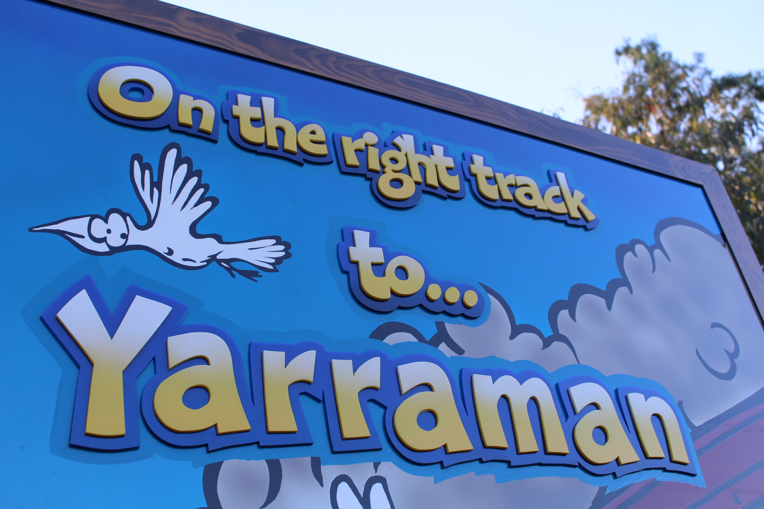 On the Right Track to Yarraman