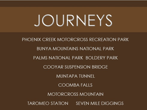 Journey from Yarraman explore a little further