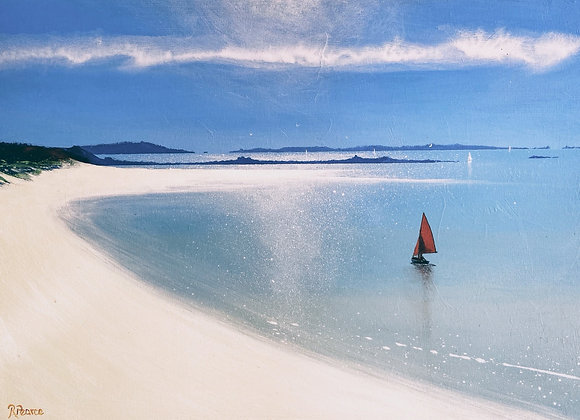 From Tresco 24x18inches