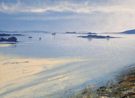 Fishing boat from Rushy Bay