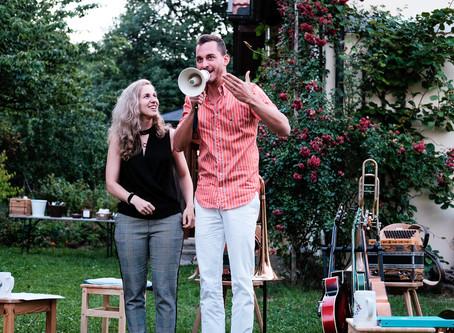 Duo Bittner/Ströbl                           Kleines Konzert am 19. und 20 August