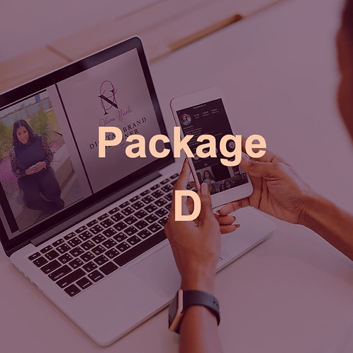 Social Media Makeover Package D
