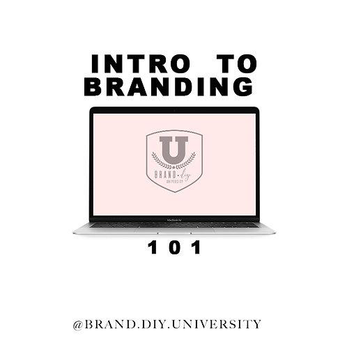 Intro To Branding