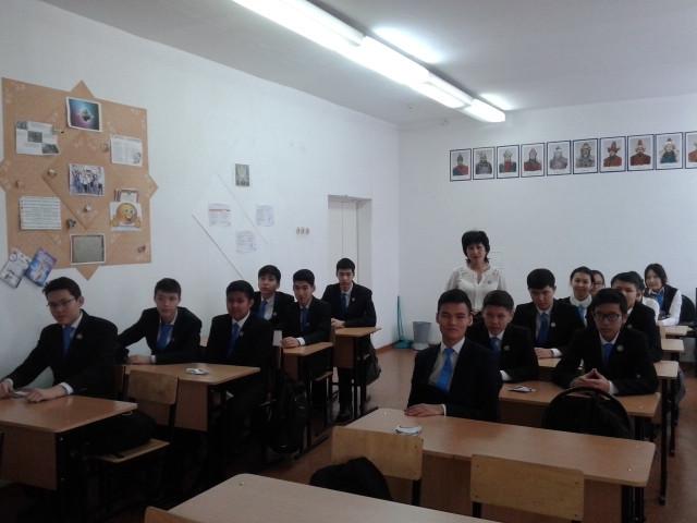 Посещение будующих студентов
