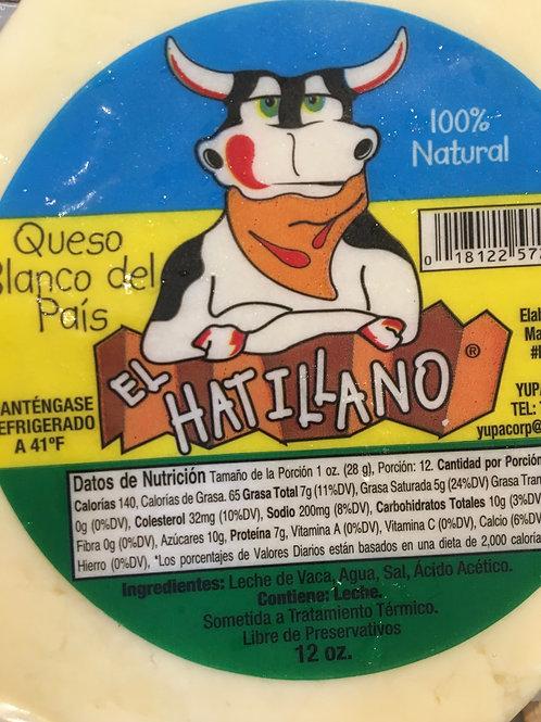 Queso Blanco del País - El Hatillano