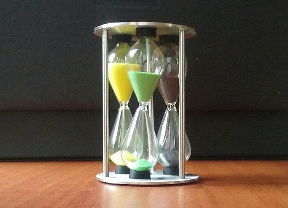 Reloj de Arena para medir 3, 4 y 5 minutos