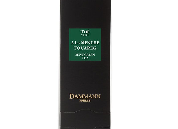 TOUAREG, GREEN TEA, BOX OF 24 ENVELOPED CRISTAL® SACHETS