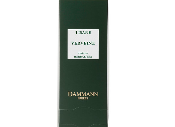 VERBENA, HERBAL TEA, BOX OF 24 ENVELOPED CRISTAL® SACHETS