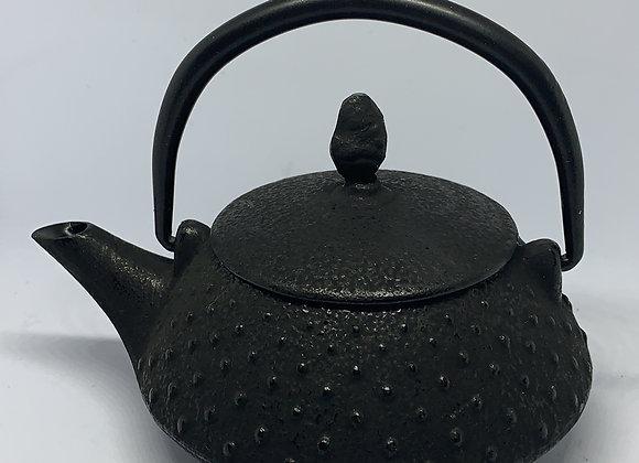 Tetera en hierro fundido luntai negra con filtro metalico 200 ml