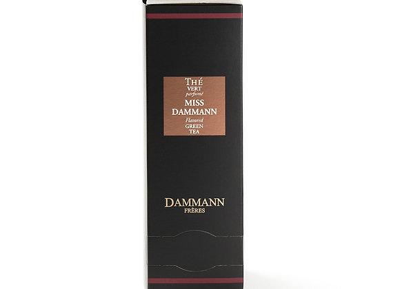 MISS DAMMANN, GREEN TEA, BOX OF 24 ENVELOPED CRISTAL® SACHETS