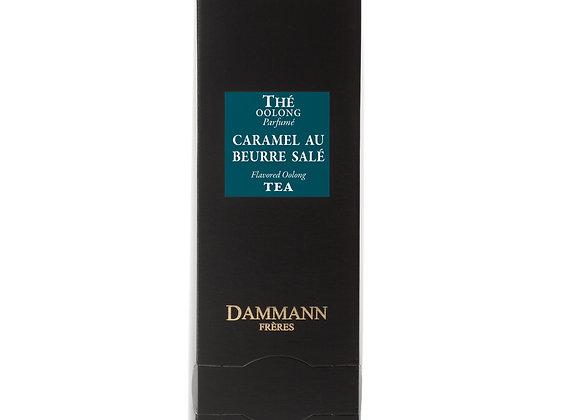 OOLONG TEA, CARAMEL AU BEURRE SALÉ', BOX OF 24 ENVELOPED CRISTAL® SACHETS