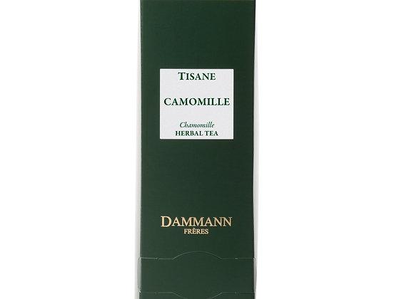 CHAMOMILE, HERBAL TEA,  BOX OF 24 ENVELOPED CRISTAL® SACHETS