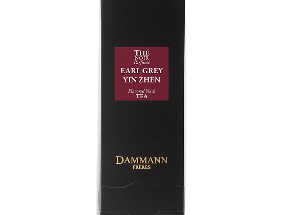 EARL GREY YIN ZHEN, BLACK TEA, BOX OF 24 ENVELOPED CRISTAL® SACHETS