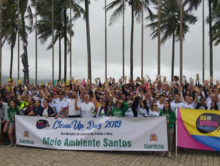 Dia Mundial de Limpeza em Santos
