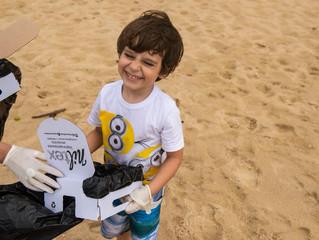 Ação Praia Limpa- Mares Limpos