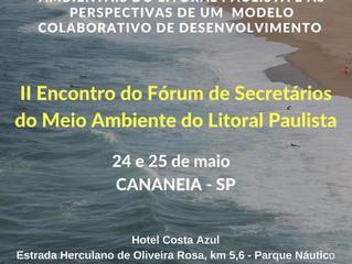 II Encontro do Fórum de Secretários do Meio Ambiente do Litoral Paulista
