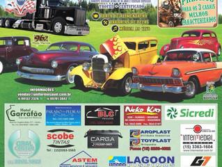 BOITUVA, Um Encontro de Amigos-2018 15º Encontro de Veículos Antigos