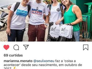 SeuLixoMeu levando nossos suportes para a comunidade da Rocinha no RJ