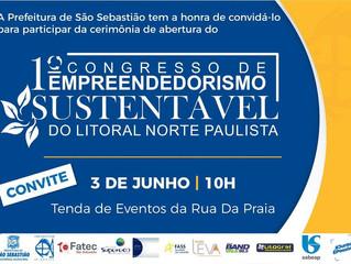 1 Congresso de Empreendedorismo  Sustentável do Litoral Norte.