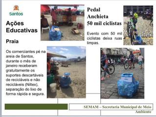 IV Congresso Acadêmico da Unifesp, secretário do Meio Ambiente de Santos Marcos Libório apresentou u