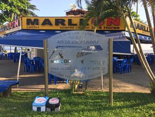 MarllON Quiosque em São Vicente
