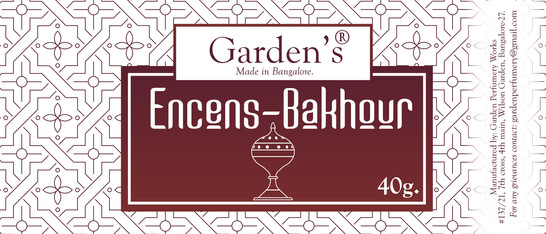 Incense Label 1