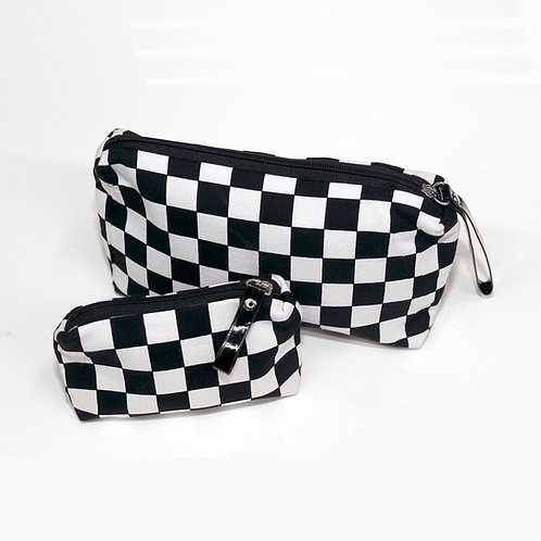 Checkered Pouches