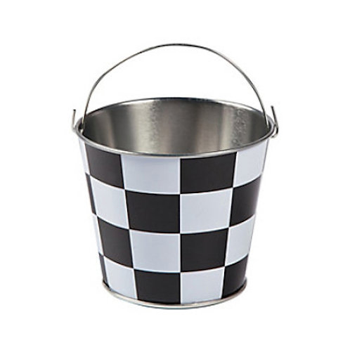Mini Checkered Pail