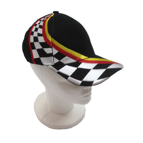 Checkered Point Baseball Cap