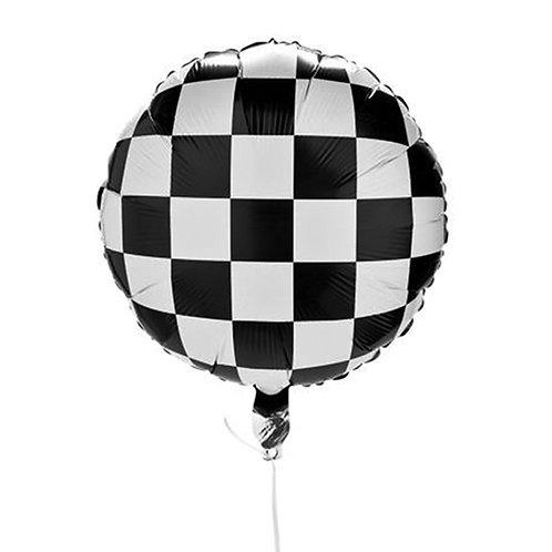 All-Over Checkered Balloon