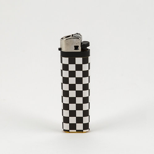 Checkered Butane Lighter