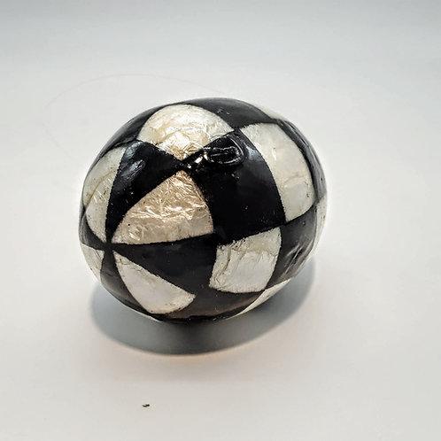 Checkered Easter Egg
