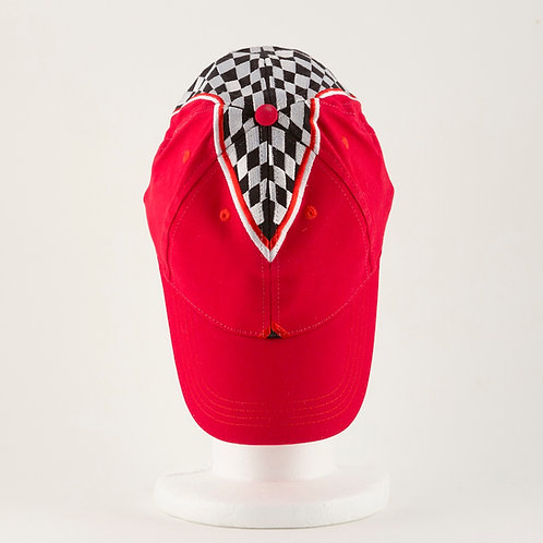 Checkered Triangle Hat