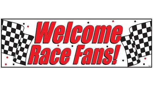 Race Fans Party Banner