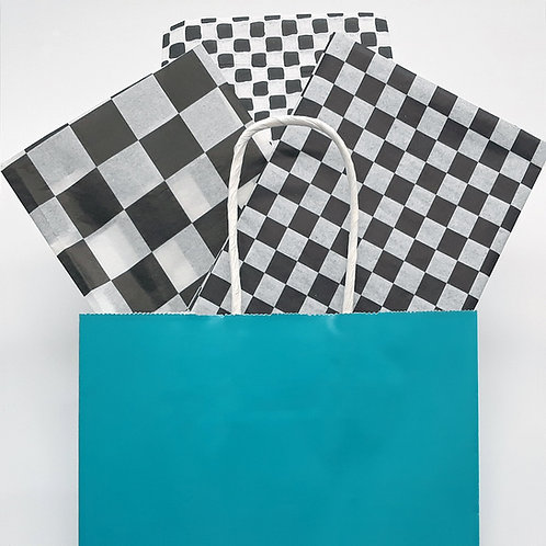 Checkered Wrapping Tissue Paper