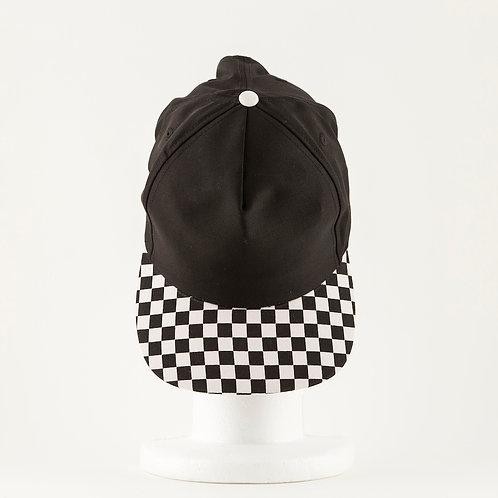 Checkered Bill Baseball Cap